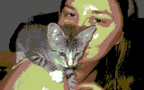 C64 Potrait with Gambit
