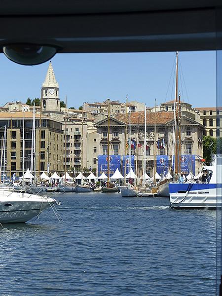 vue du ferry boat