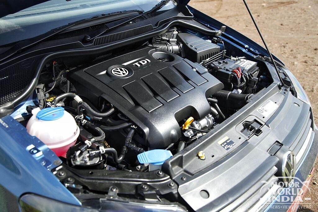 Volkwagen Ameo-Diesel-Engine-Bay