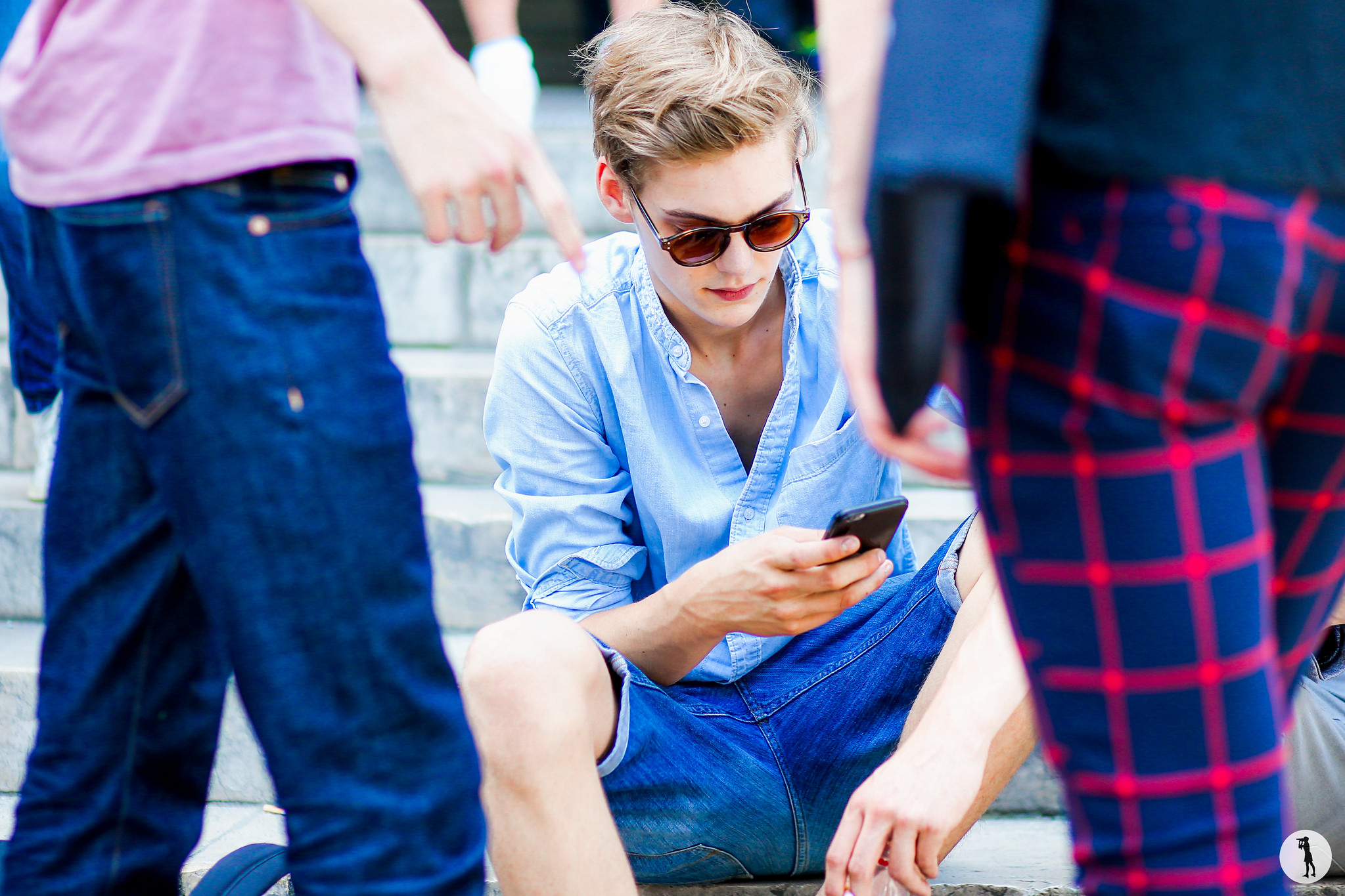 Street style, Paris Fashion Week Menswear SS16