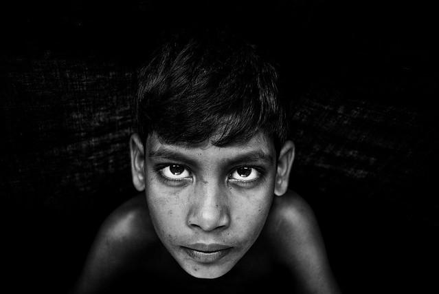 Resultado de imagen de black & white photography face