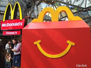 CIRCLEG 麥當勞 香港 太古 遊記 太古城中心 麥當勞玩具樂園 MACDONALD 滑嘟嘟 麥當勞叔叔 (9)