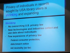 Privacy as shrinking