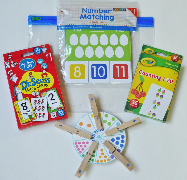 Counting and Numbers Busy Bag