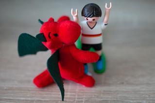 rote Drachen