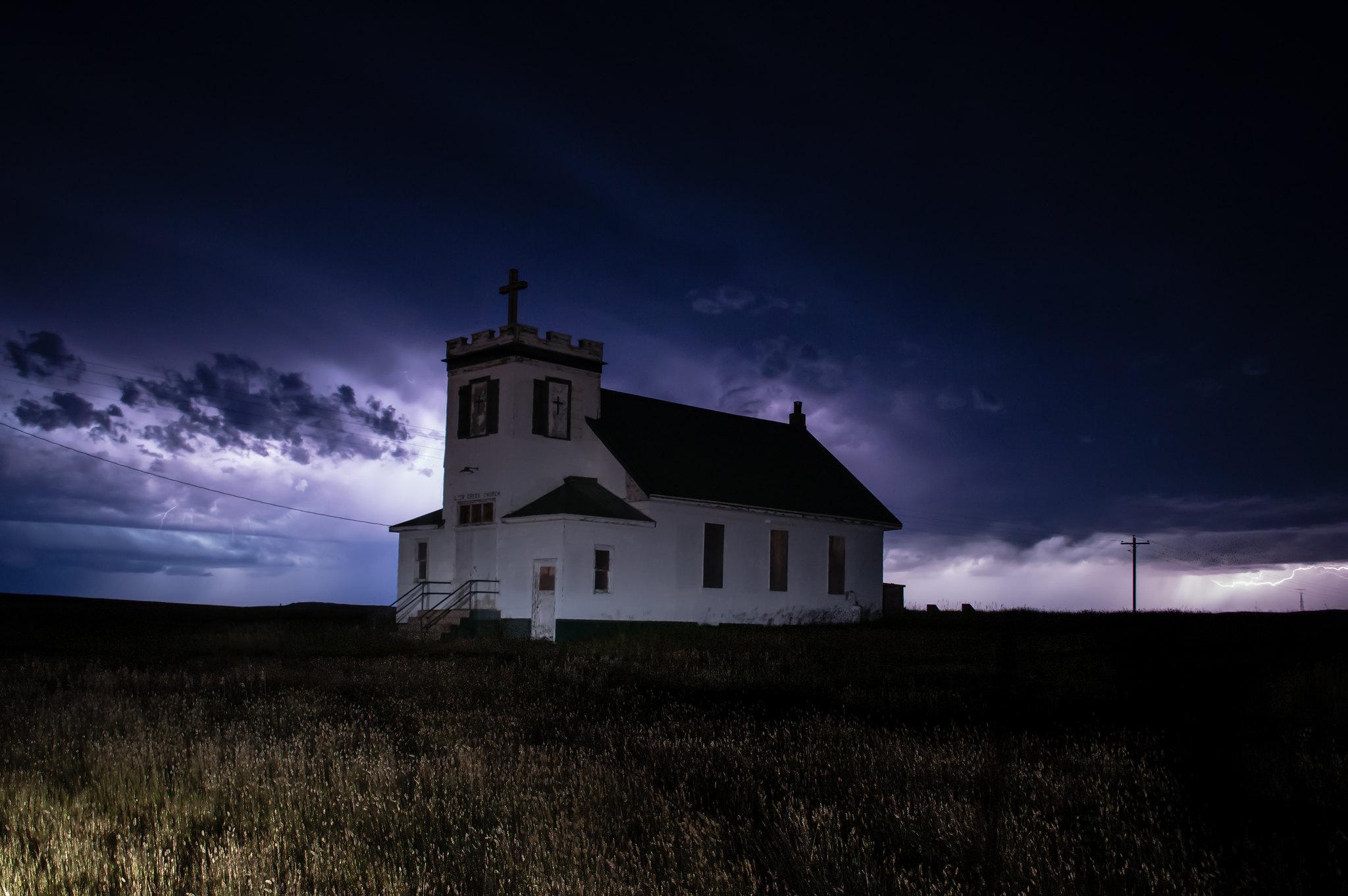 Abandoned Deer Creek Church