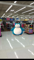 Snorlax shopping