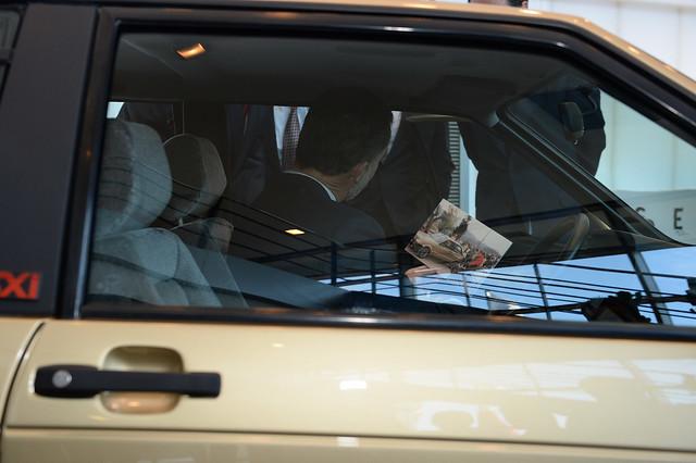 Хэтчбек SEAT Ibiza 1986 года короля Испании Филиппа VI