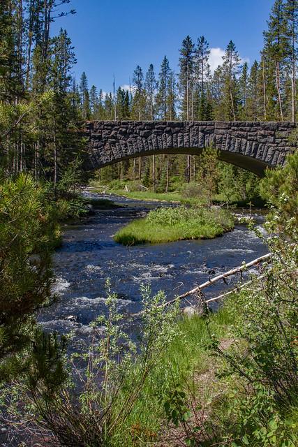 Bridge over crawfish creek