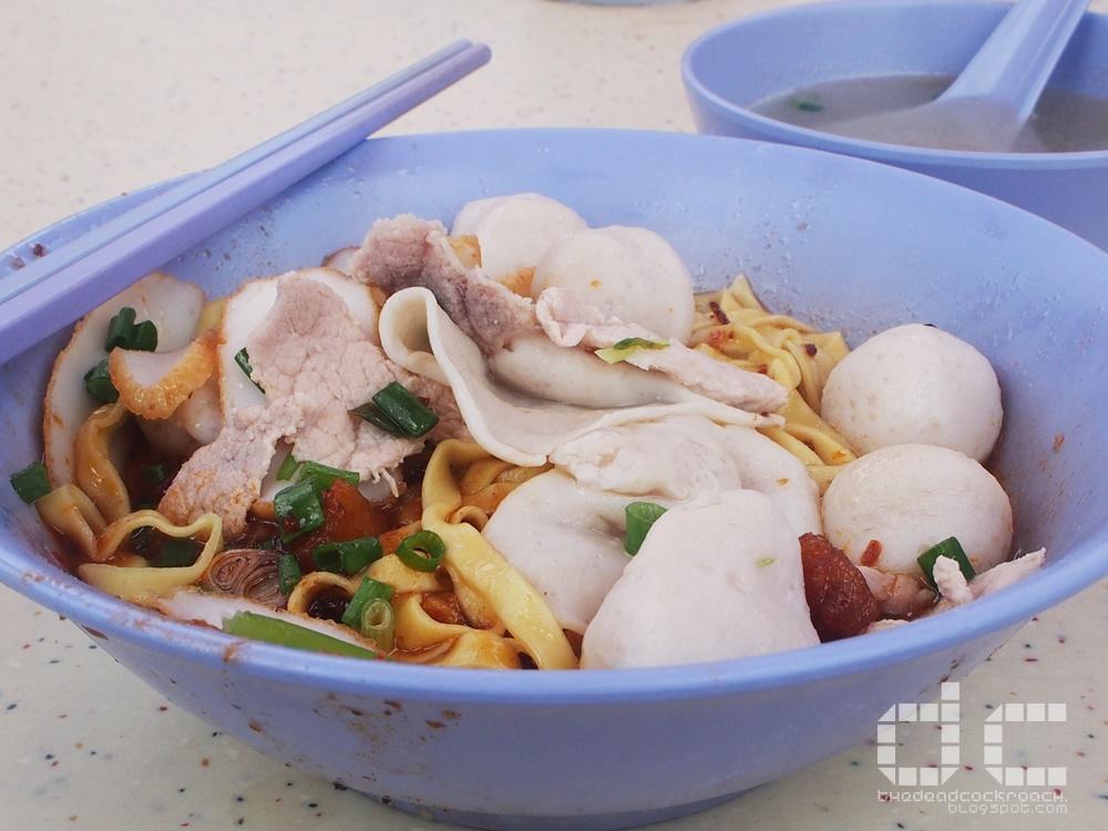 food, hui ji fishball noodles, hui ji yong tau fu, tiong bahru, tiong bahru hawker centre, 輝記魚圓面﹒釀豆腐, 辉记鱼圆面﹒酿豆腐, review,food review,singapore