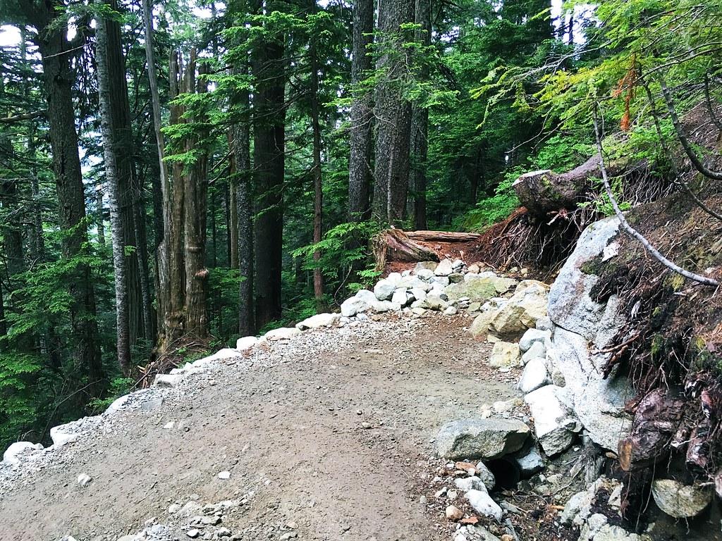 Howe Sound Crest Trail switchback