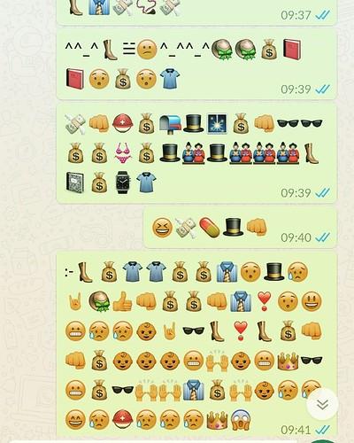 Conversaties die ik verstuur tijdens het lopen. #whatsapp. Volgende keer foon vergrendelen 😂
