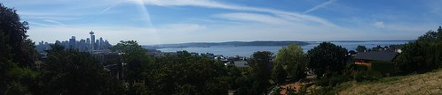 Kerry Park View Panoramic Seattle