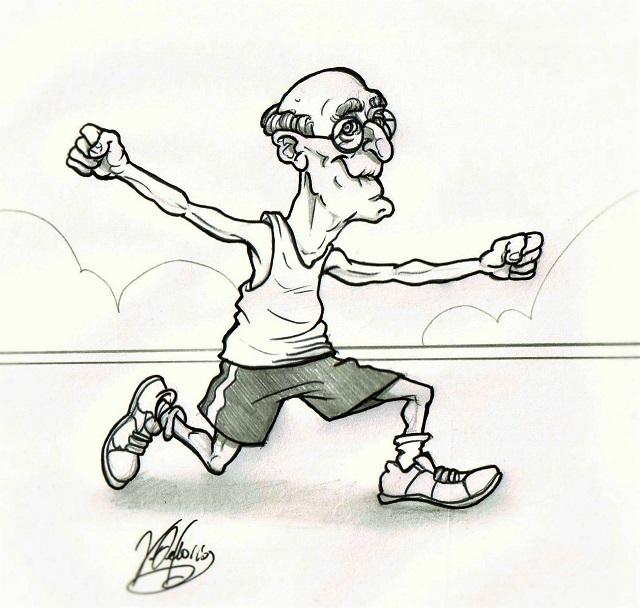 Noicattaro. Vignetta Sport in Cammino intero