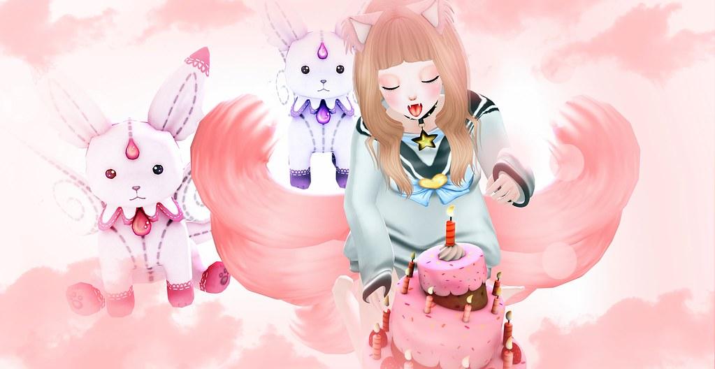 Kitsune Pink [D]oki
