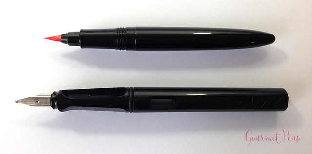 Review Sailor Profit Calligraphy Brush Pen @couronneducomte 10