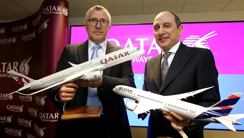 LATAM Airlines Group and Qatar Airways sign agreement - 1