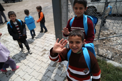 Turkey: Syrian children heading back to school