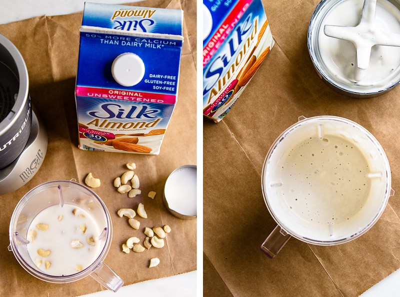 SILK ALMOND MILK & HEAVY CASHEW CREAM