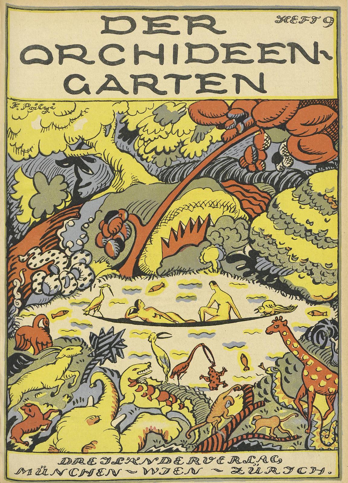 Der Orchideengarten - 1919 (Cover 9)