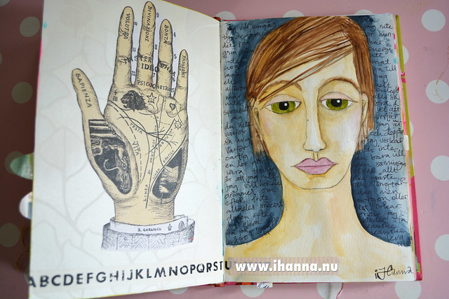 Art Journaling Can be Sad made by iHanna
