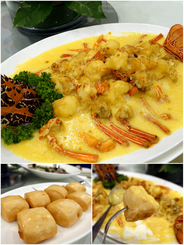 XIU Fine Cantonese Dining Restaurant- Baked Tiger Lobster with Cheese