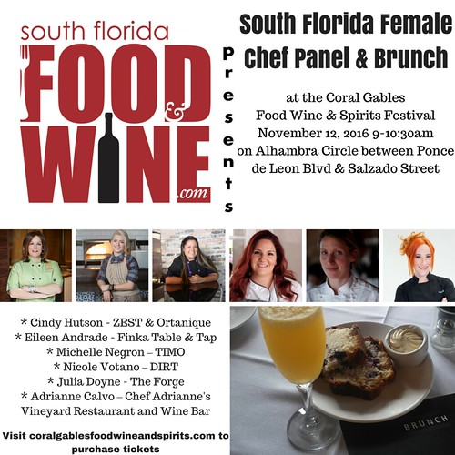 South Florida Food and Wine Female Chef Panel