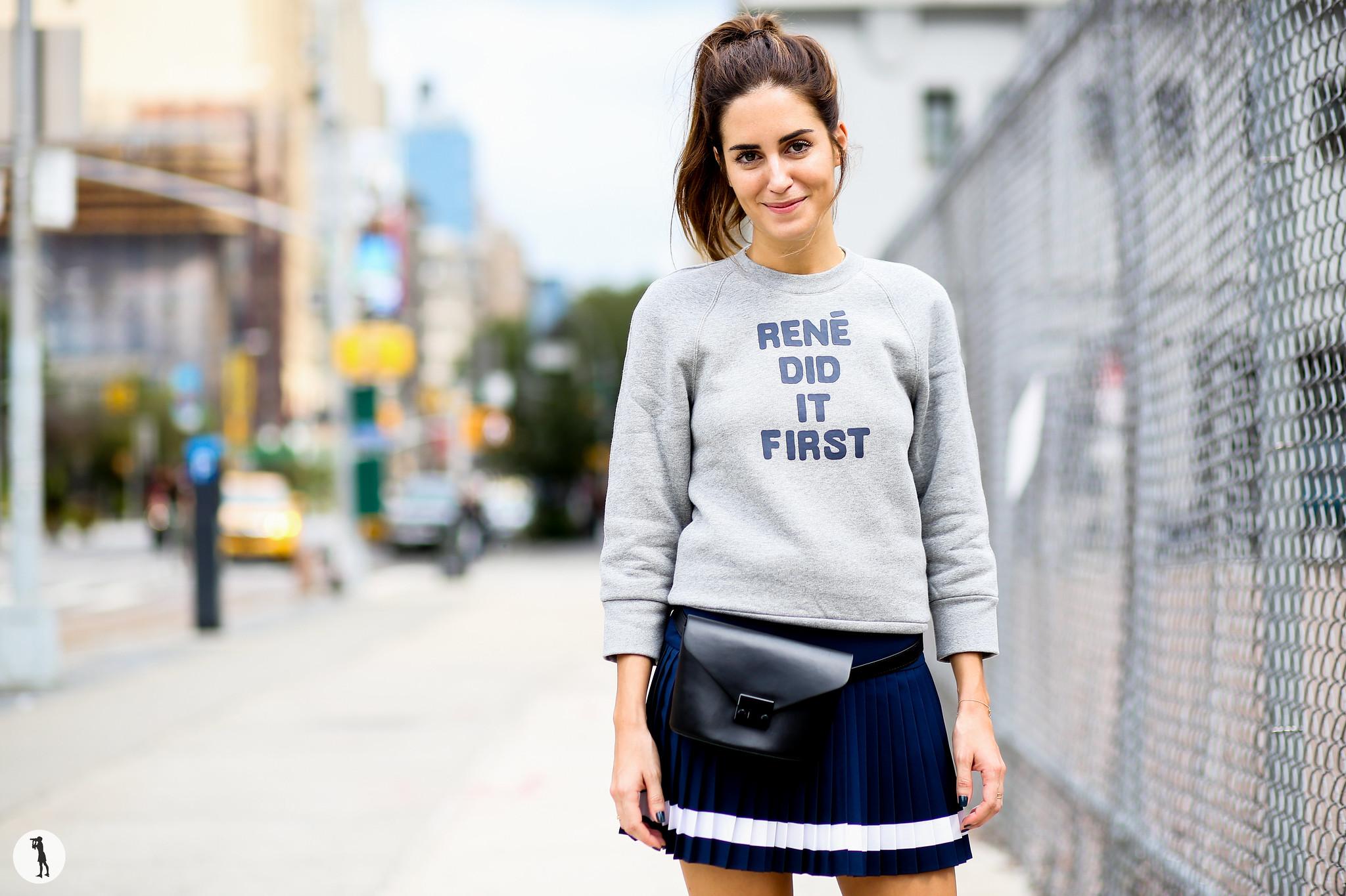 Gala Gonzalez at New York Fashion Week-3 2