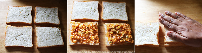 Sweet Corn Mayo Sandwich Recipe - Step4