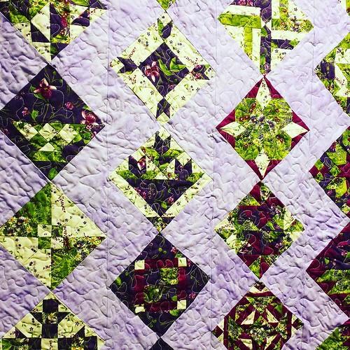 Quilt detail #eriecountyfair #quilt