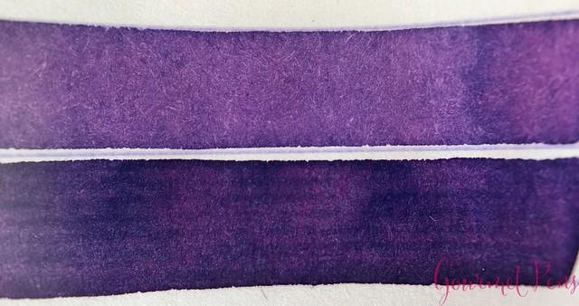 Ink Shot Review Graf Von Faber-Castell Violet Blue @AppelboomLaren 4