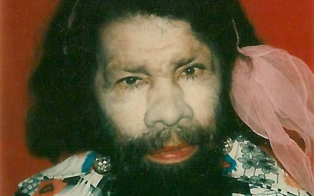 Бородатая женщина Перцилла Лаутер