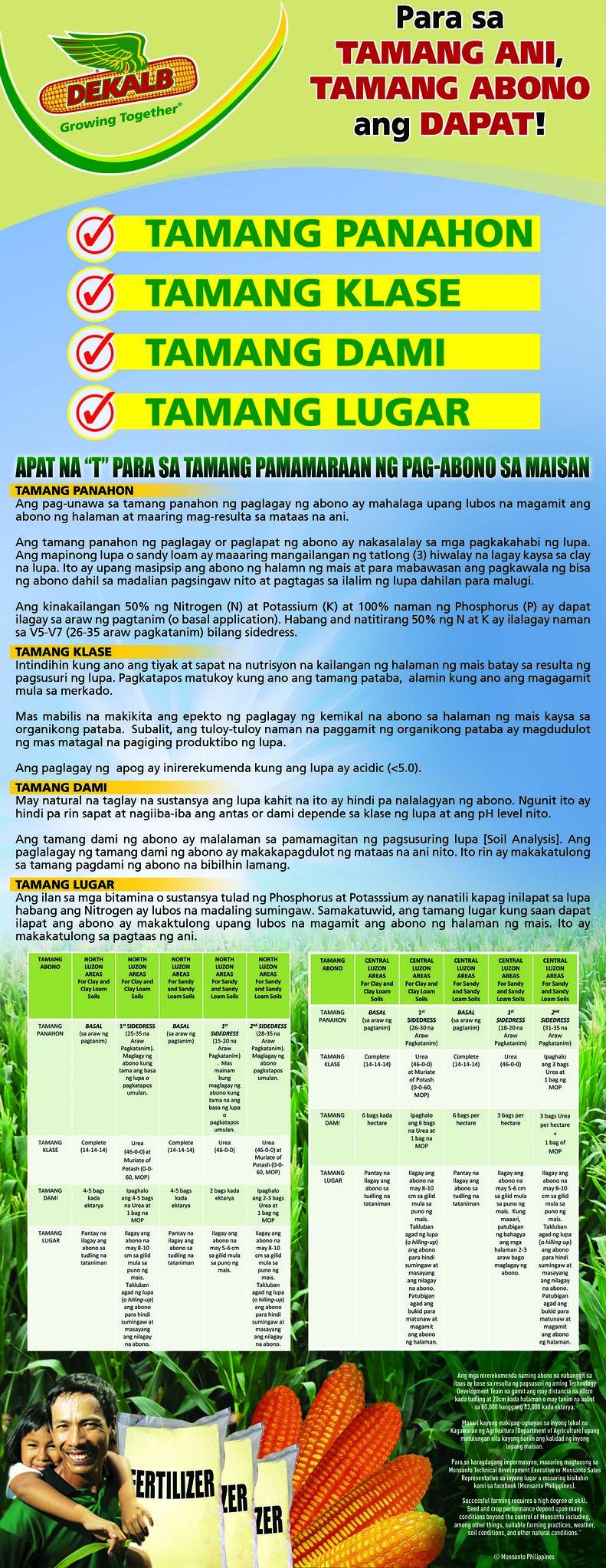 Nutrient Management Tagalog