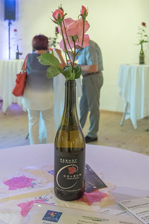 Dekoration Weinfest Schloss Kastelbell