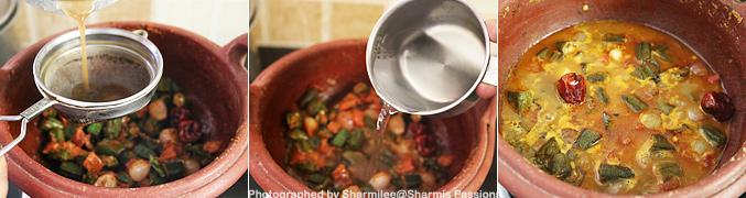 How to make Vendakkai Puli Kuzhambu Recipe - Step6
