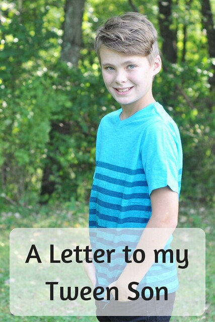 A Letter to my Tween Son