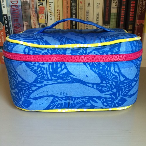 Sew Sweetness Crimson & Clover Train Case