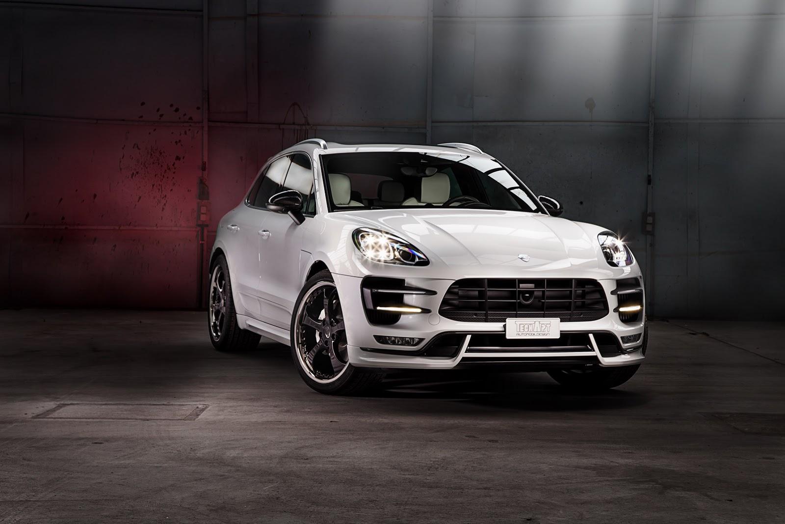 Тюнинг Porsche Macan от TechArt