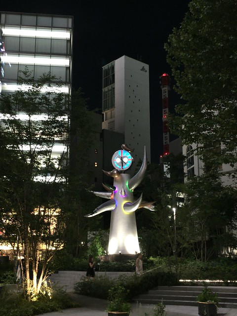 Taro Okamoto statue