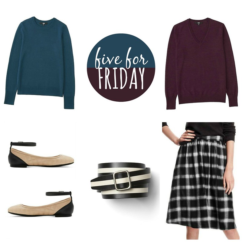 five for friday dueling sweaters | Style On Target blog