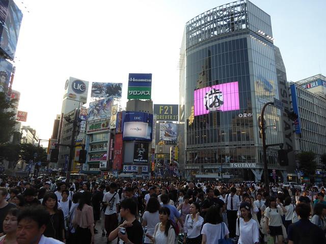 Shibuya, Tokyo - 6/8/16