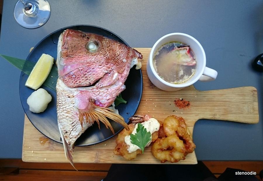 Seafood Appetizer Platter