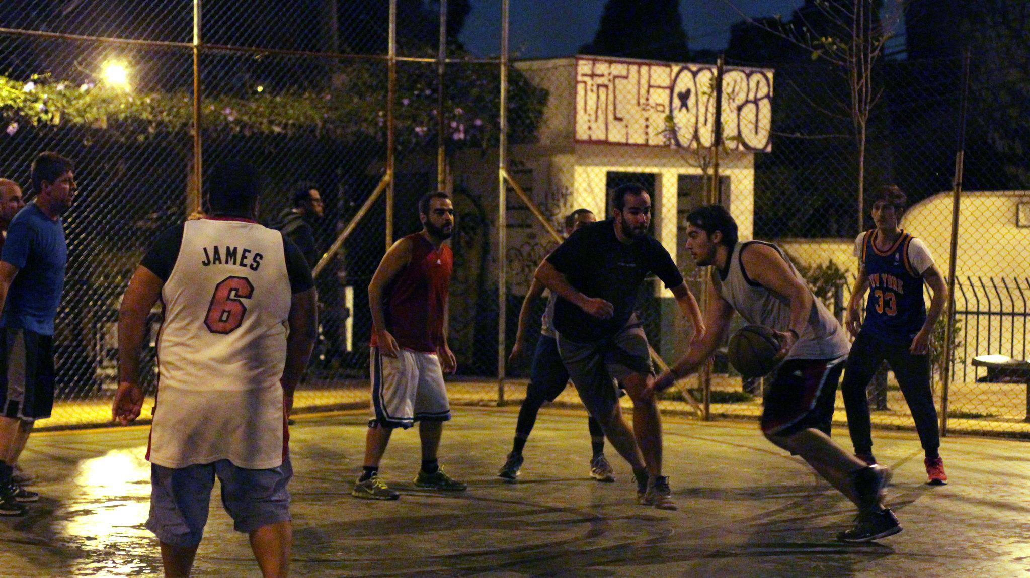 Esportes na rua