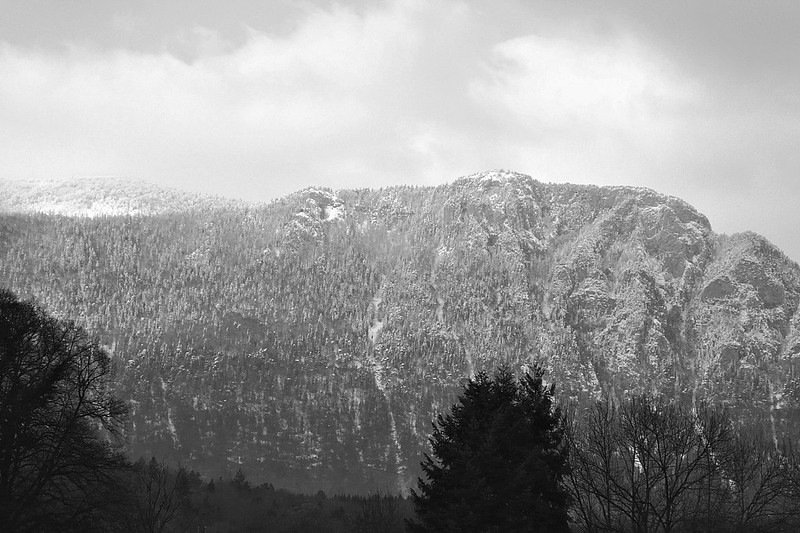 Jura mountains - the first snow