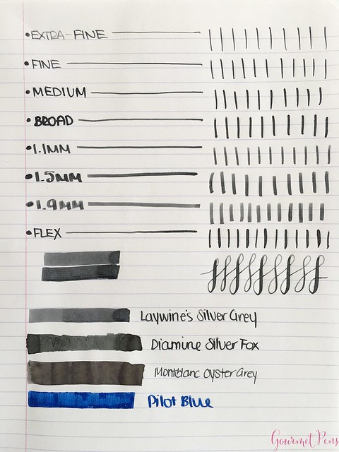 Ink Shot Review @Laywines Silver Grey 3