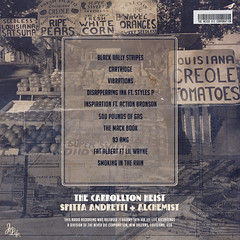 Curren$y - The Carrollton Heist (Back)