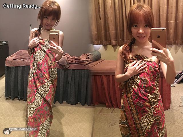 Slim fit Tiffany Yong Sarong Review