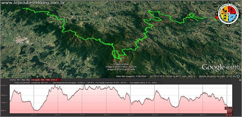 05 Travessia Transmantiqueira com o Clube Trekking Santa Maria RS