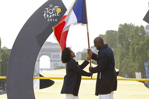 Teddy Riner, porte-drapeau pour Rio 2016