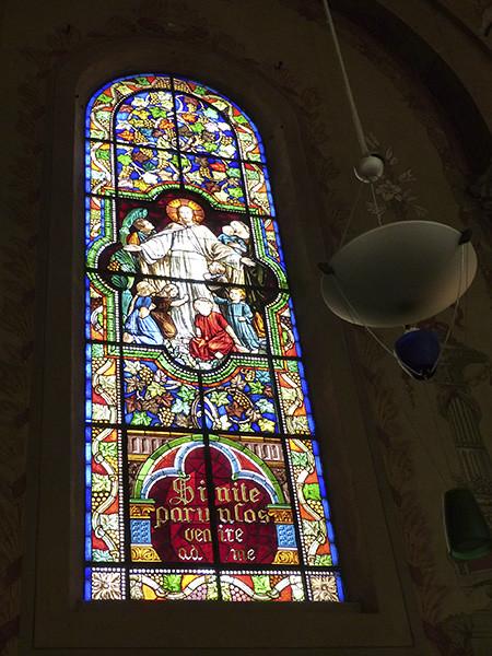 vitrail église garnier